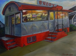 """""""Buddy's Outside"""" All Rights Reserved Heather Balchunas 2012"""