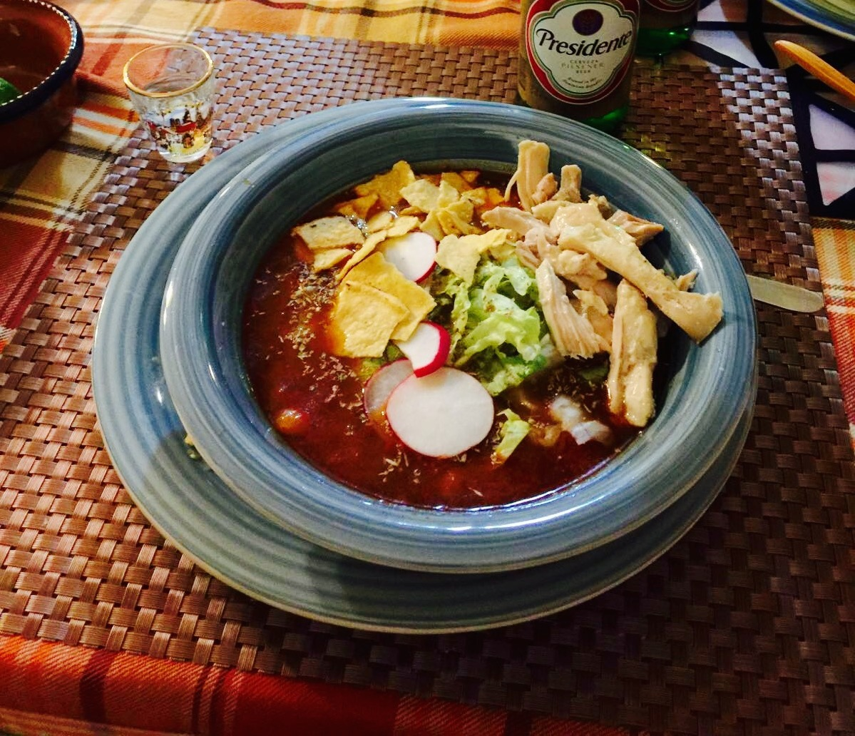 Recipe: Warm up with Mexican Pozole!