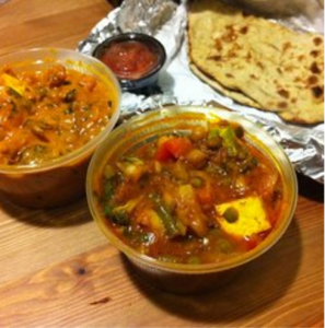 Vegetarian Indian delight at Indian Palace